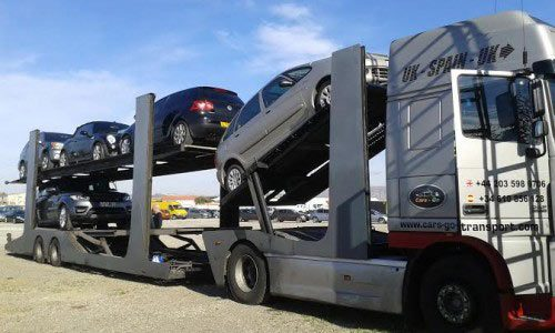 Car Transport Services between the UK, southern Spain and Portugal.