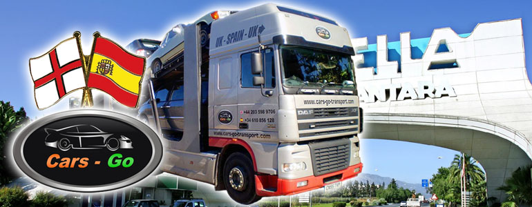 Car Transport Services London - Marbella, Spain