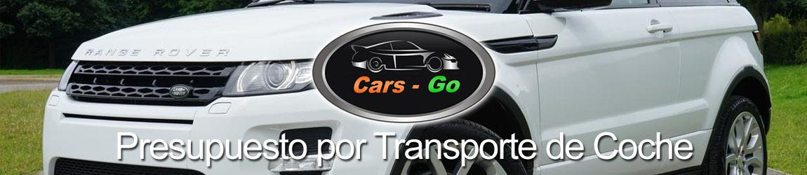 Presupuesto por Transporte de Coche - Cars-Go-Transport